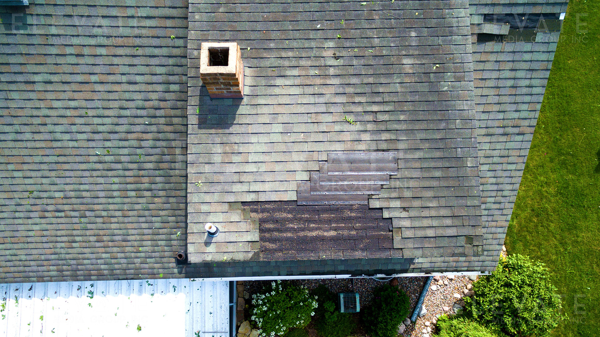 Aerial Inspection Damage Detail 2