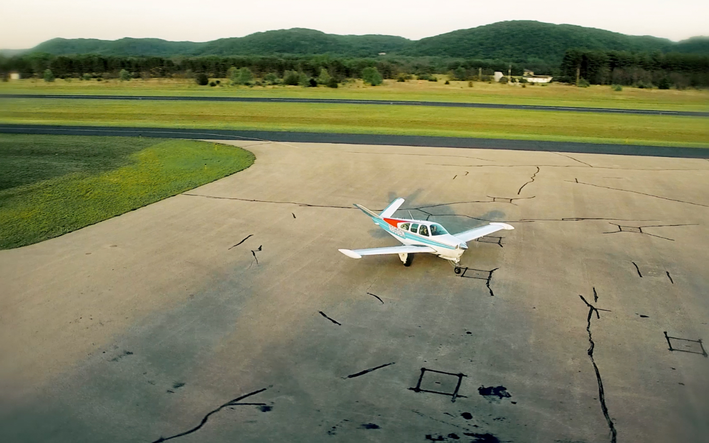 Boscobel WI Tourism Video Airport with Plane