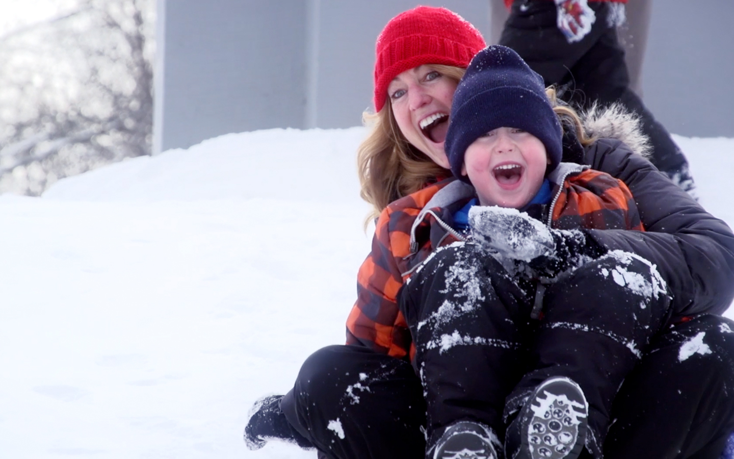 Boscobel WI Tourism Video Sledding