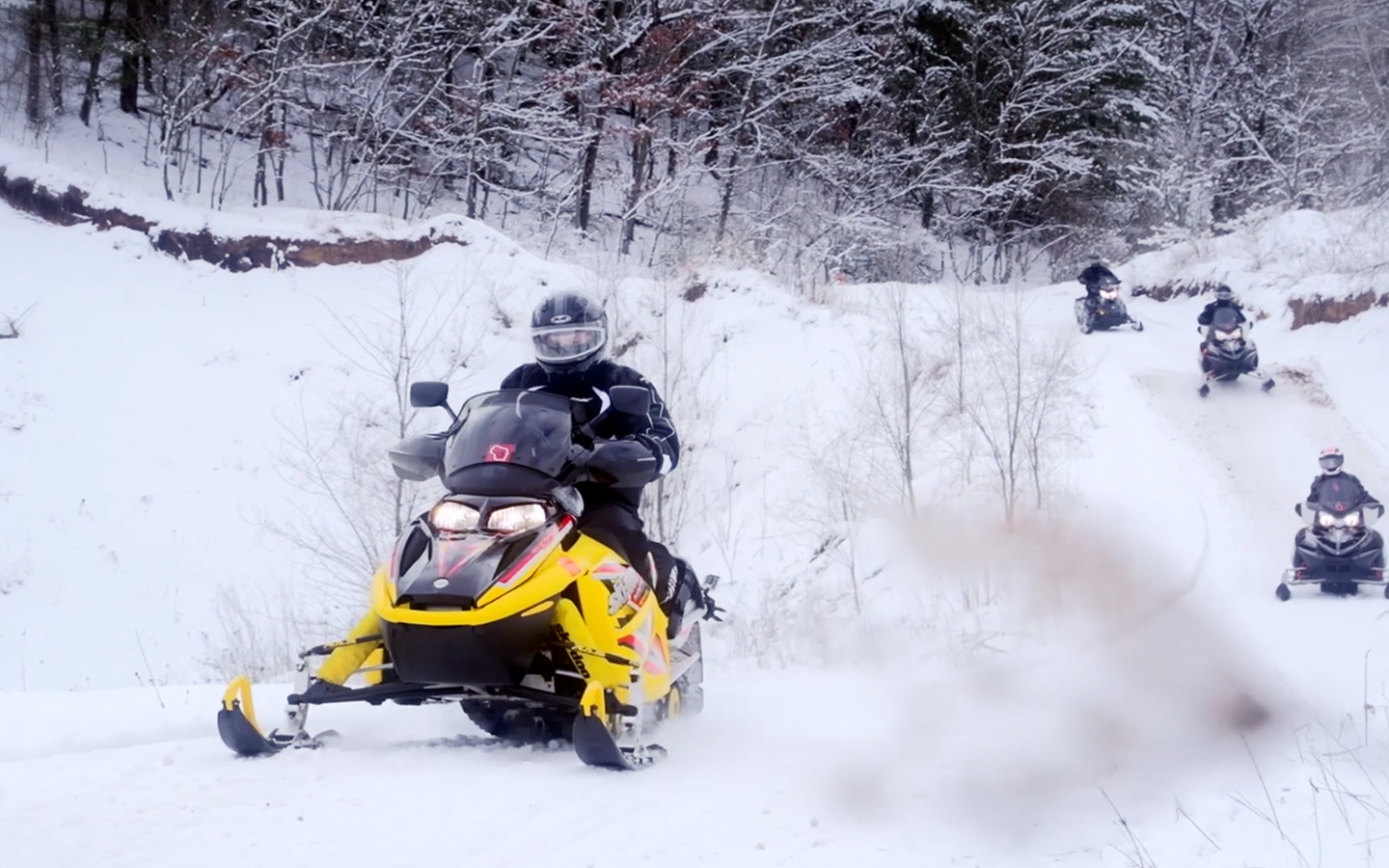 Boscobel WI Tourism Video Snowmobiling