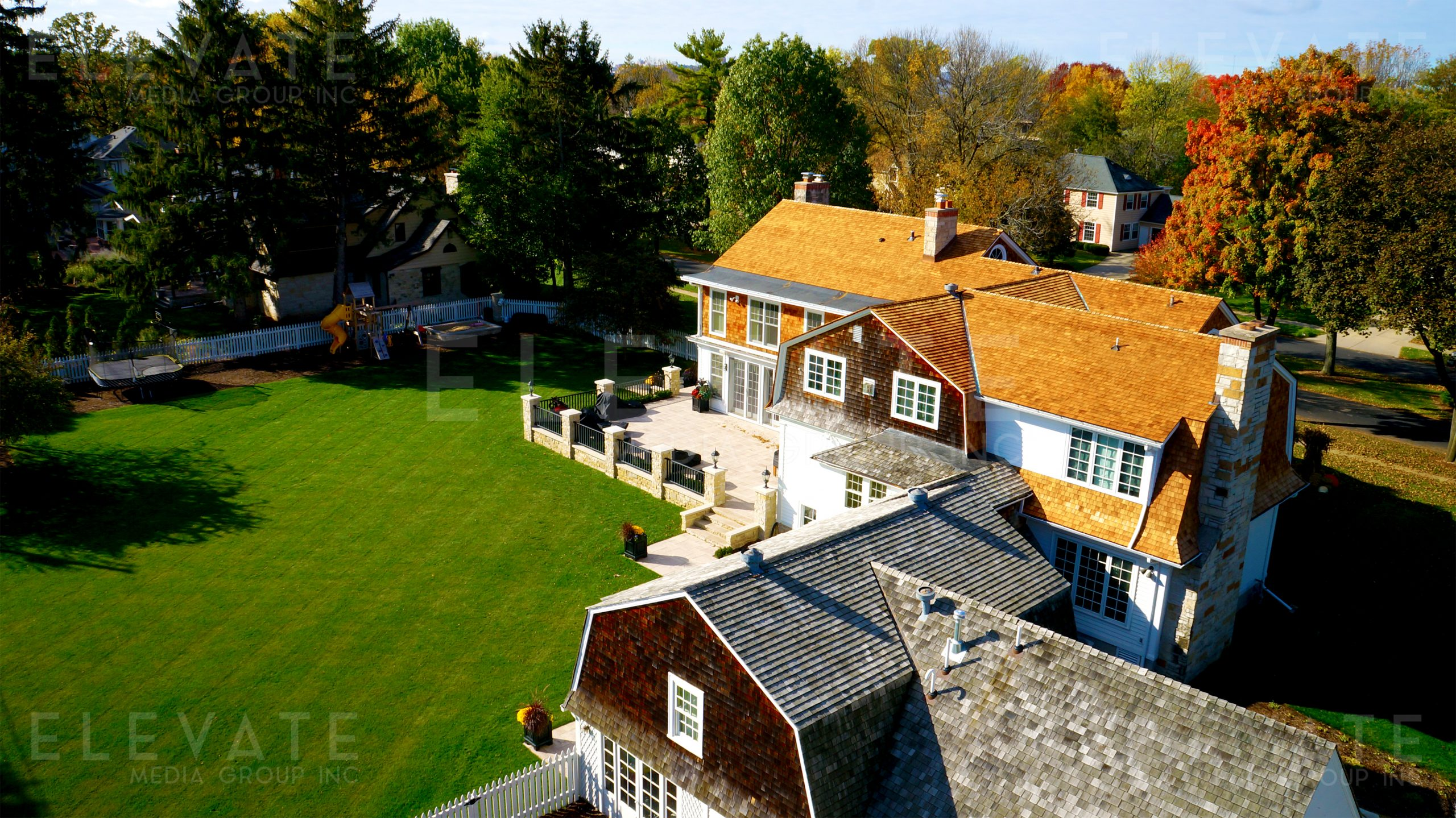 Cottage Mansion Roofing Project