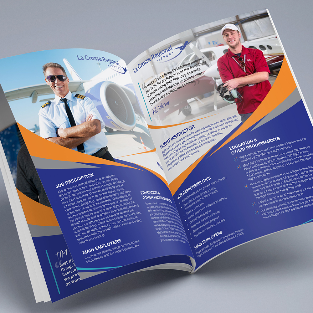 La Crosse Regional Airport Careers in Aviation Booklet