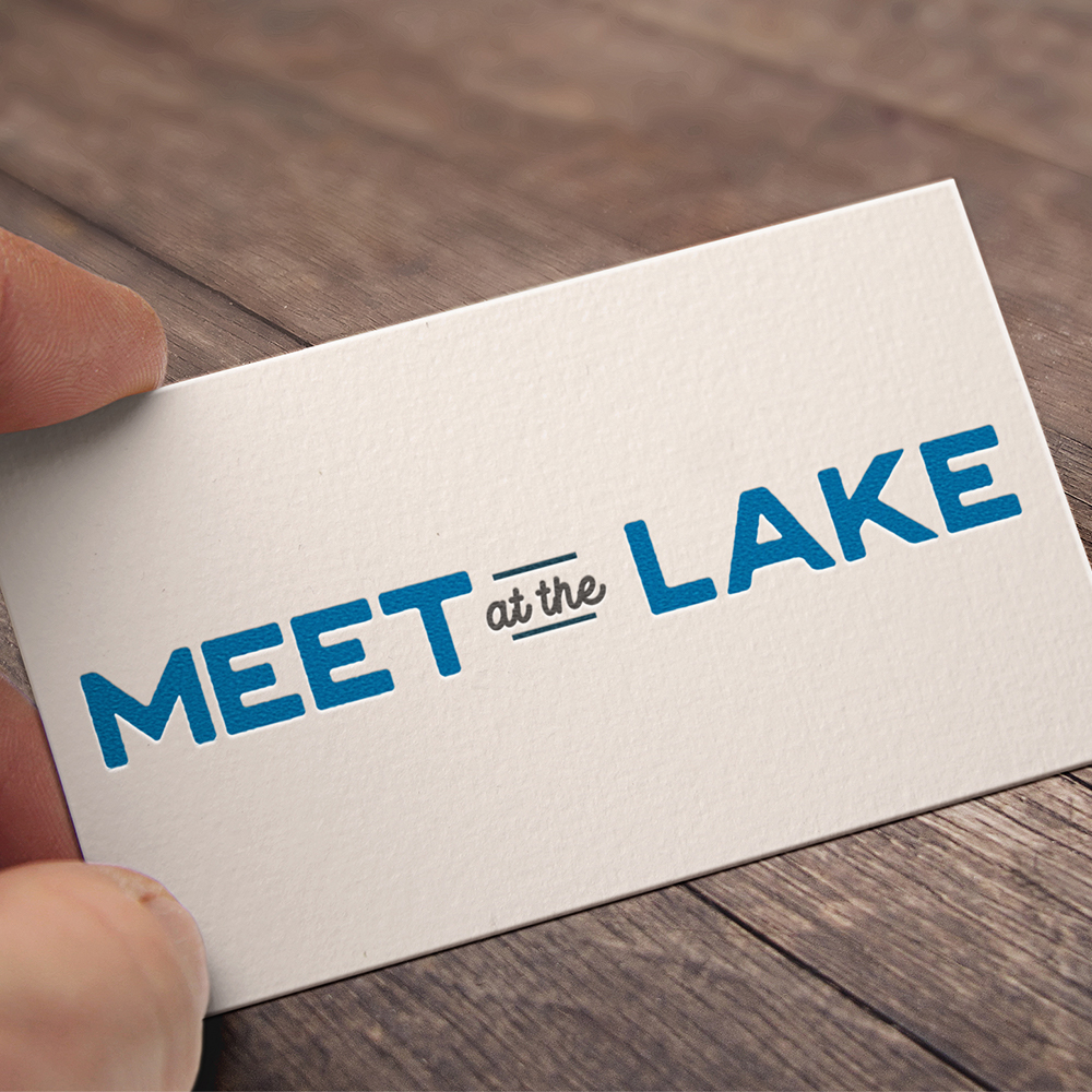 Meet at the Lake Logo