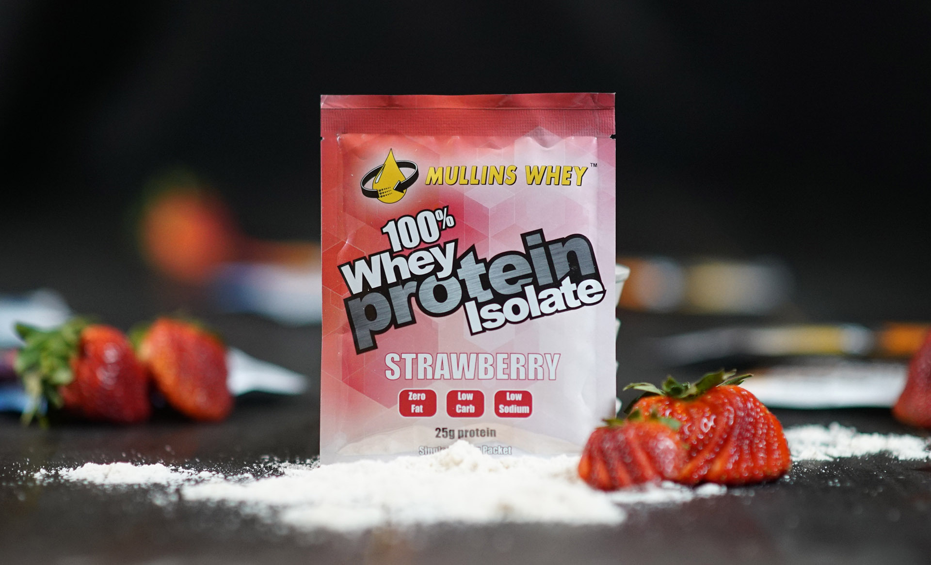 Mullins Whey Protein Strawberry