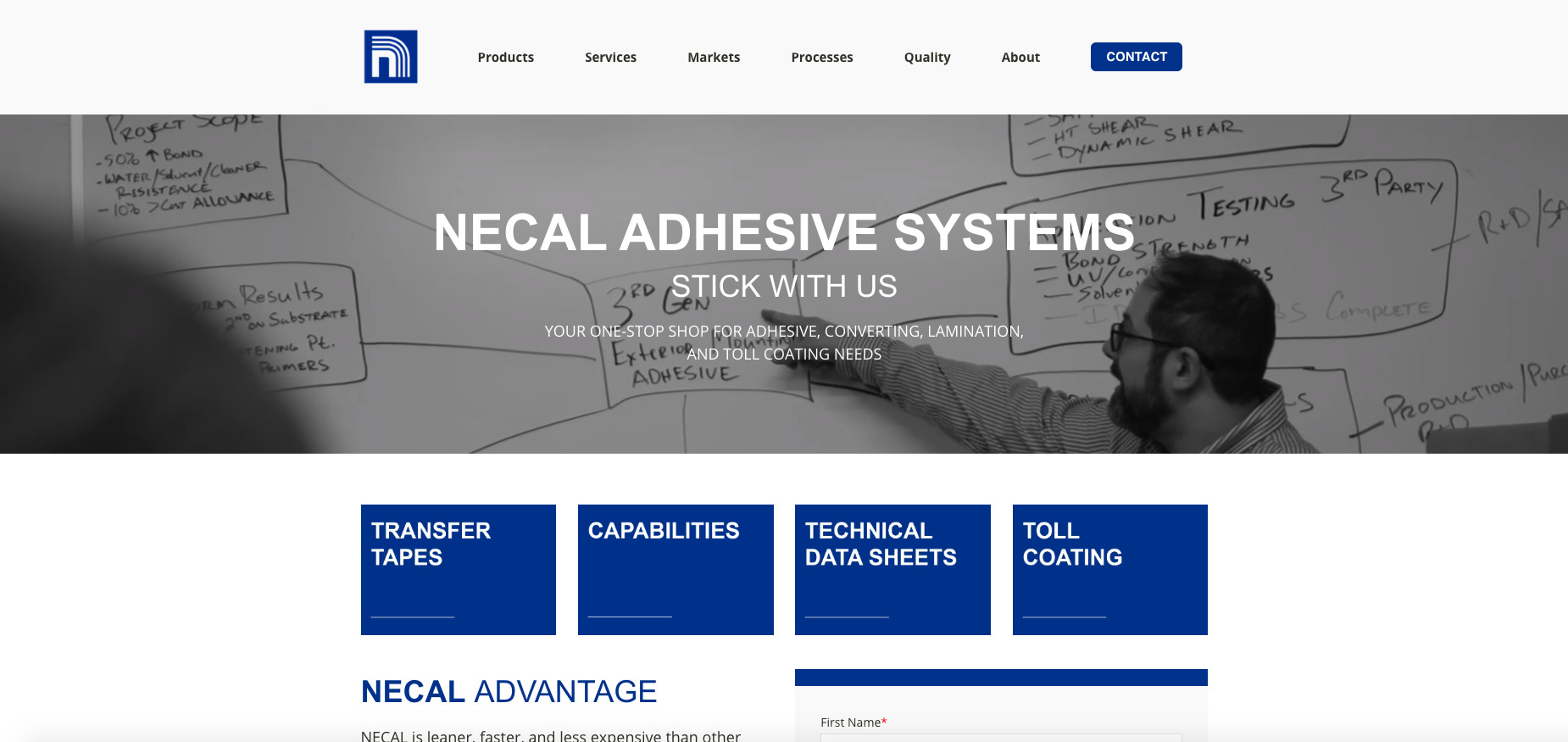 NECAL Site Homepage