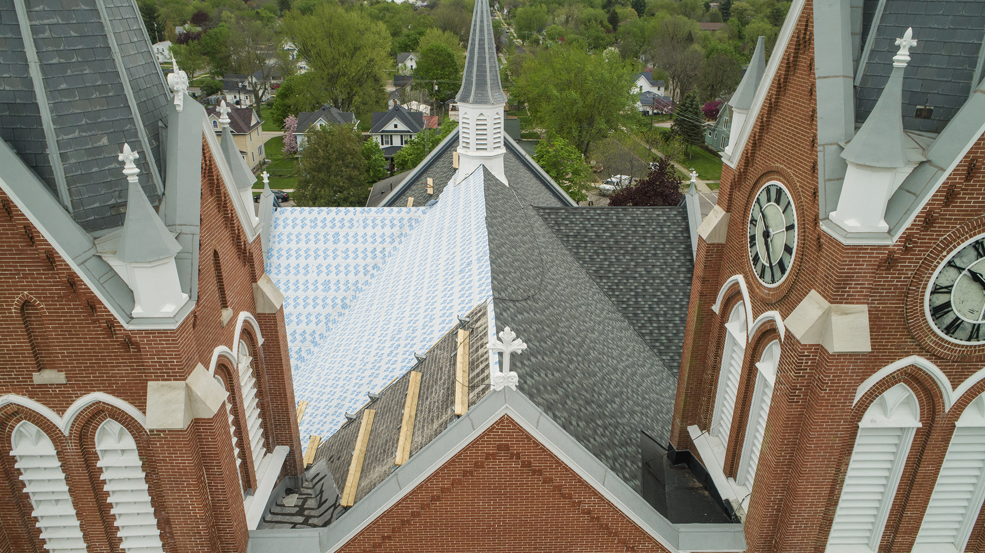 st peters church roof