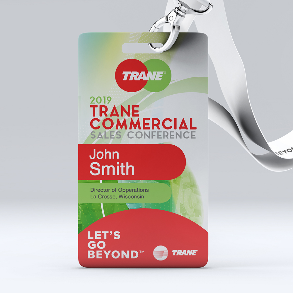 Trane Sale Conference 2019 Badge