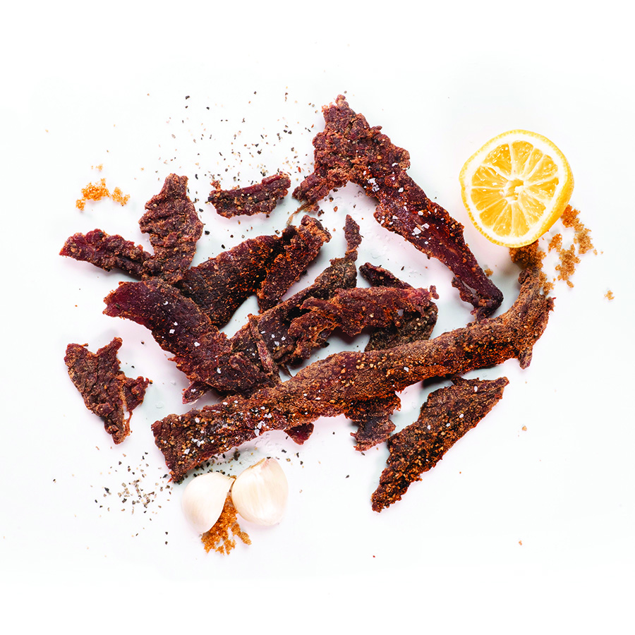 Beef Jerky Food Photography
